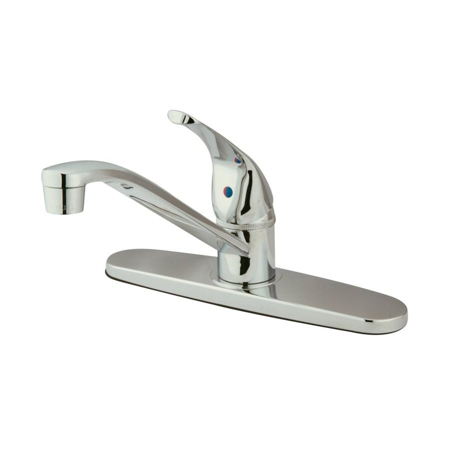 Shop Elements Of Design Chatham Chrome Handle LowArc Kitchen - Low arc kitchen faucet