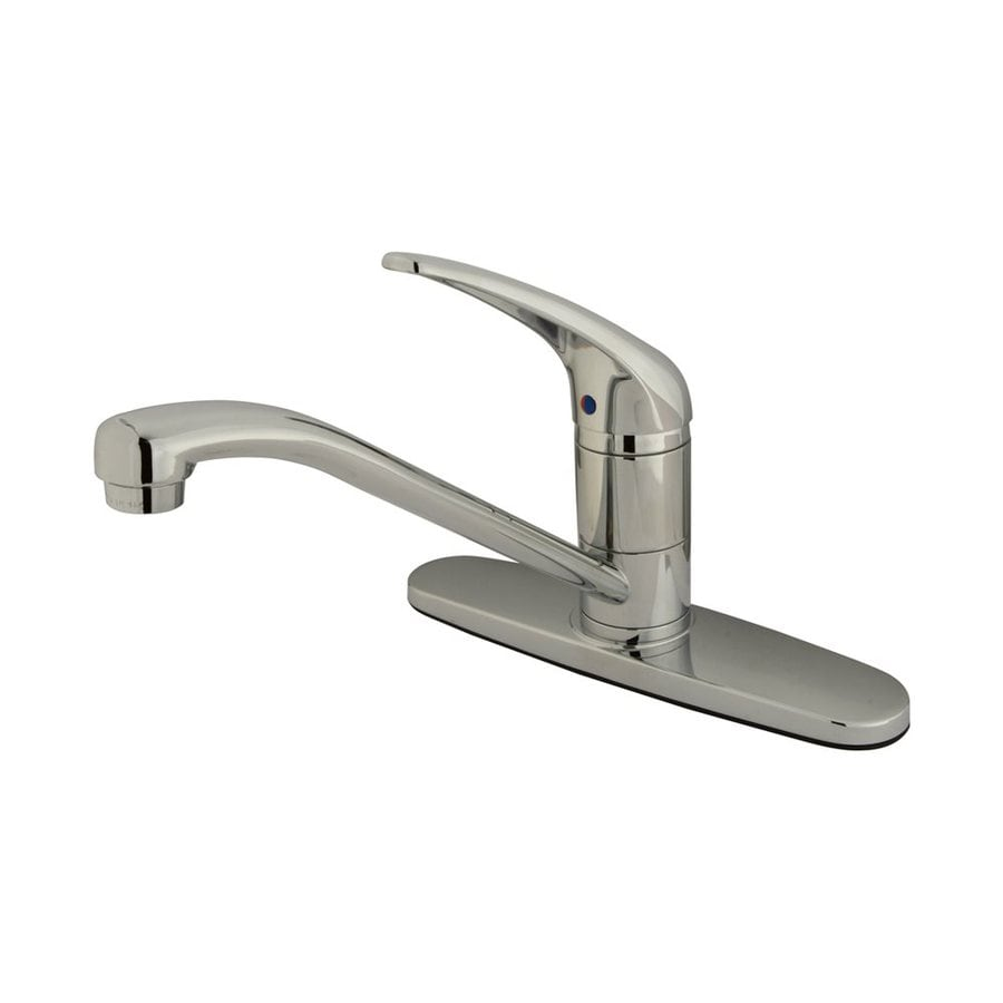Elements of Design Royale Chrome 1-Handle Low-Arc Kitchen Faucet