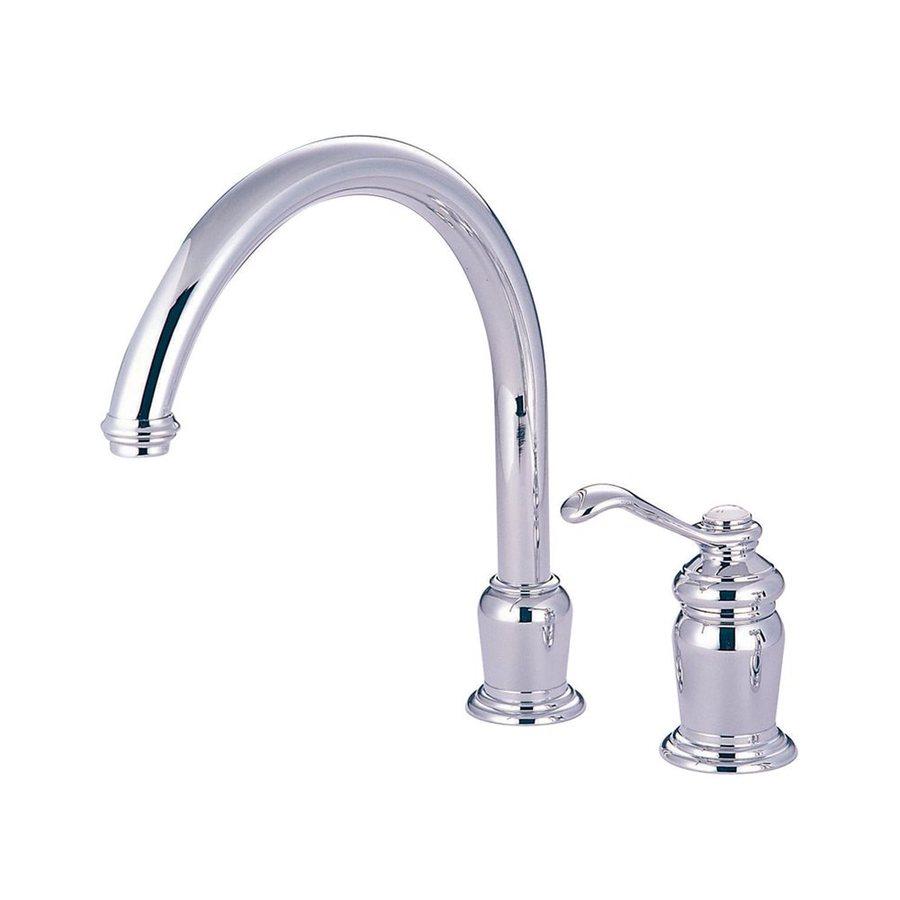 Elements of Design Templeton Chrome 1-Handle High-Arc Kitchen Faucet