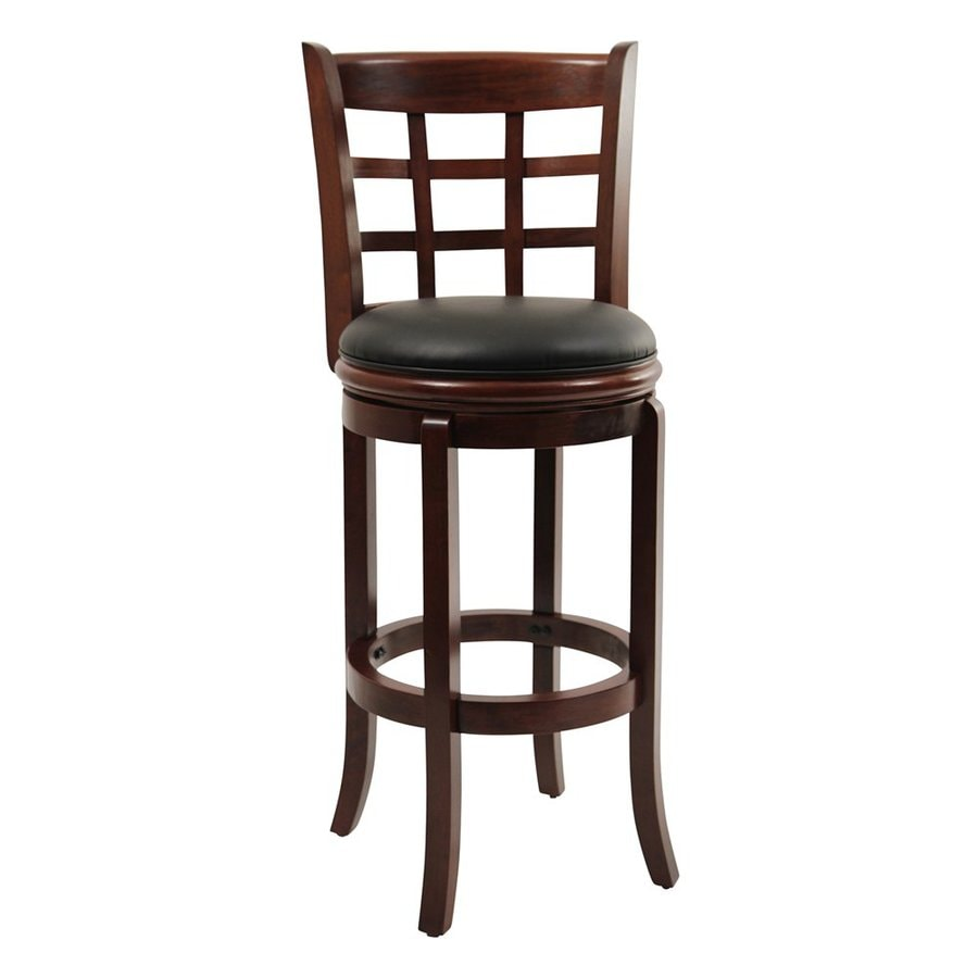 Shop Boraam Industries Kyoto Cherry 24 In Counter Stool At