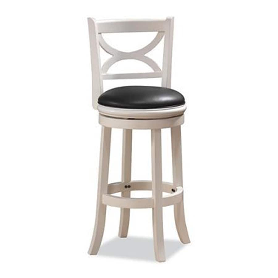 Boraam Industries Florence White Sandthru Counter Stool