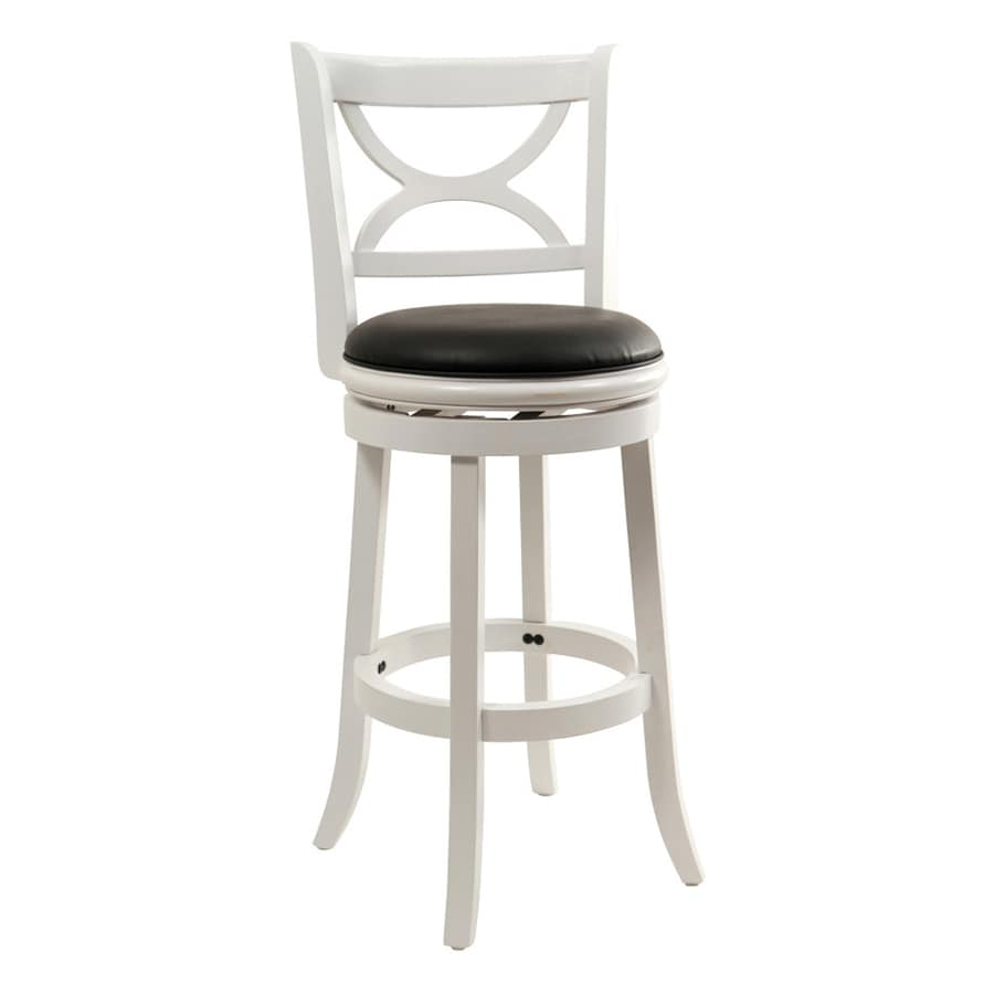 Boraam Industries Florence White Sandthru 29-in Bar Stool