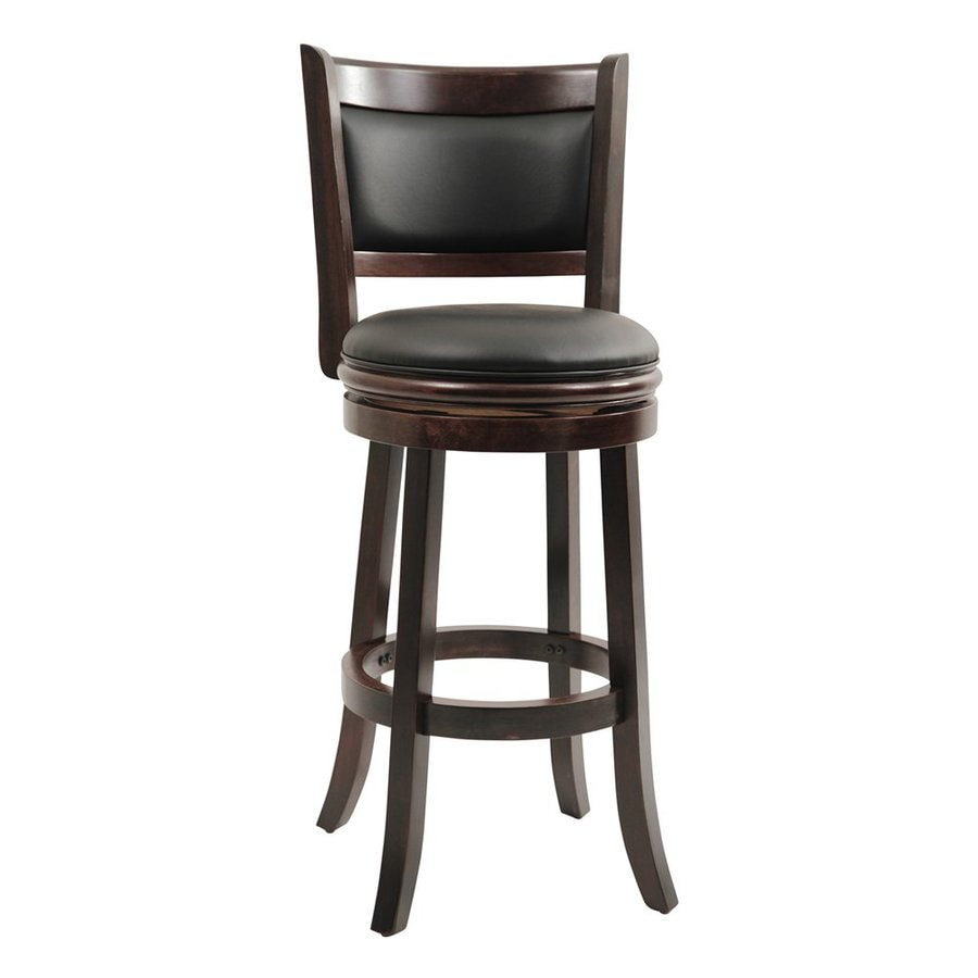 Boraam Industries Augusta Casual Cappuccino Bar Stool