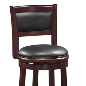 Enjoyable Boraam Industries Augusta Cherry Counter Stool At Lowes Com Gmtry Best Dining Table And Chair Ideas Images Gmtryco
