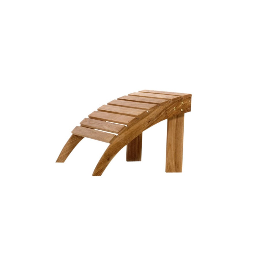 All Things Cedar 21-in L x 19-in W x 16-in H Wood Stool