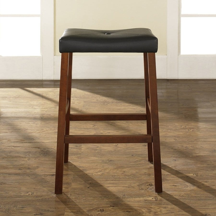 Crosley Furniture Set of 2 Classic Cherry Bar Stools