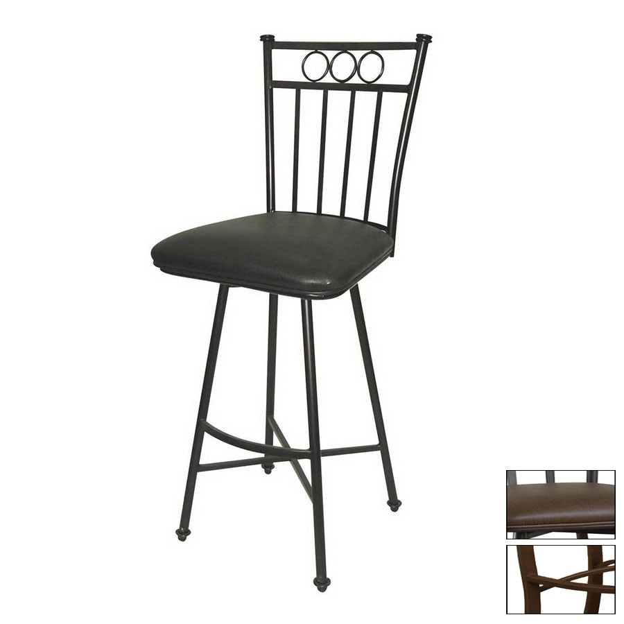Greystone Albany Ginger Spice 30-in Bar Stool