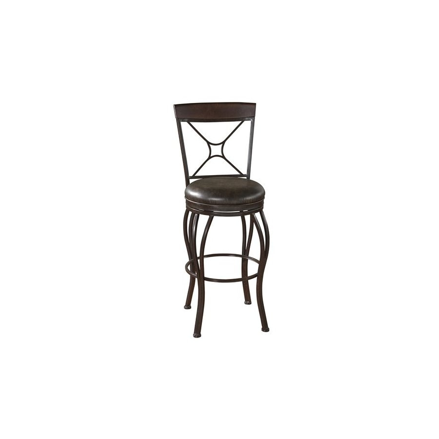 American Heritage Billiards Calais Portobello 26-in Counter Stool