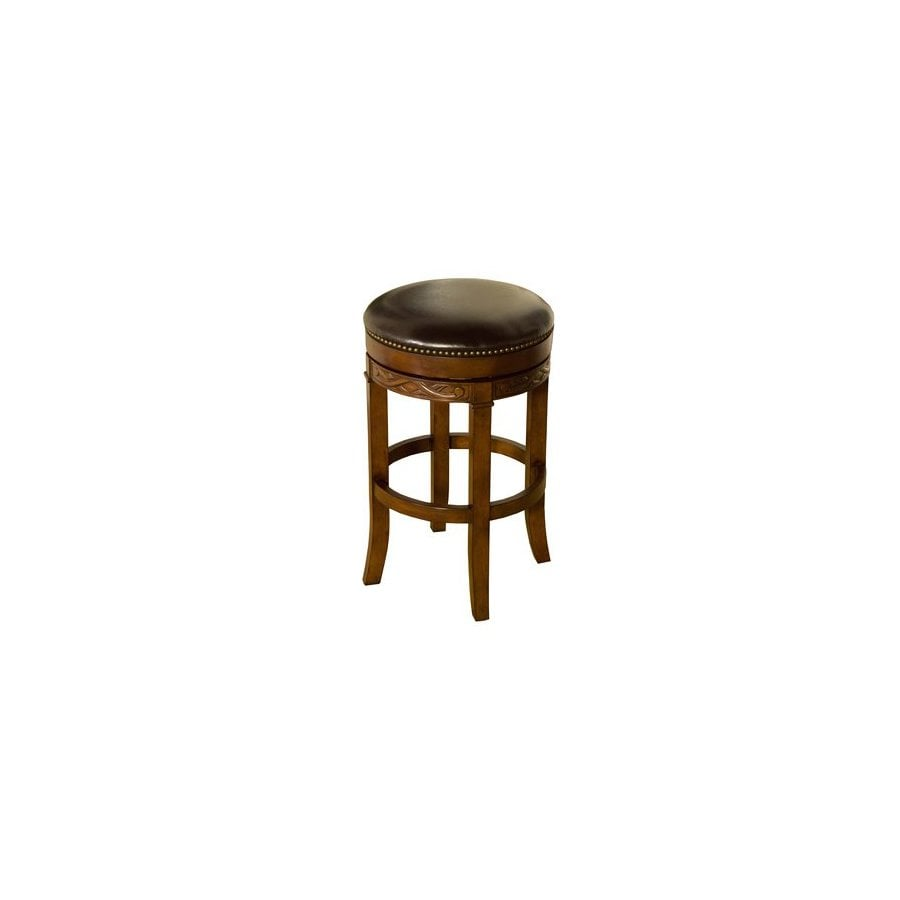 Greystone Bali Tall Suede 34-in Bar Stool