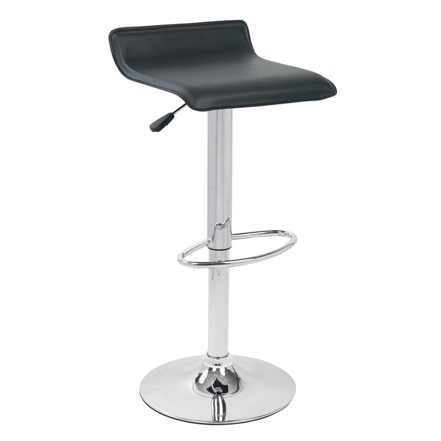 Lumisource Ale Chrome Adjustable Stool