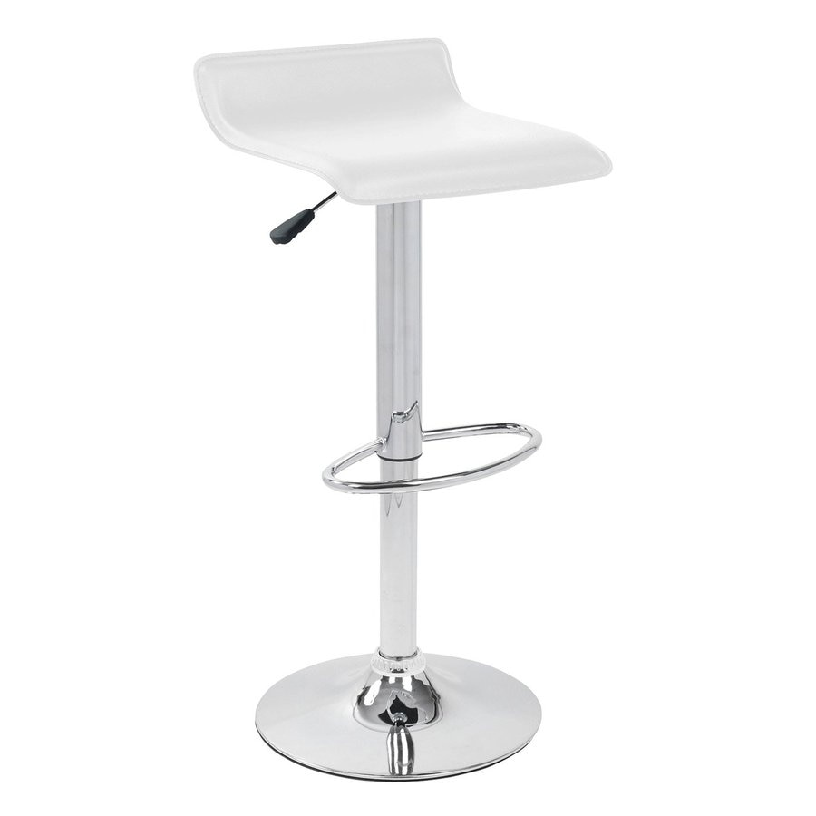 Lumisource Ale Chrome 34-in Adjustable Stool