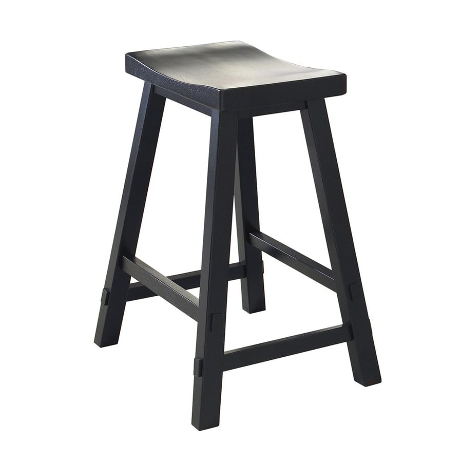 Shop Liberty Furniture Creations Ii Black Bar Stool At