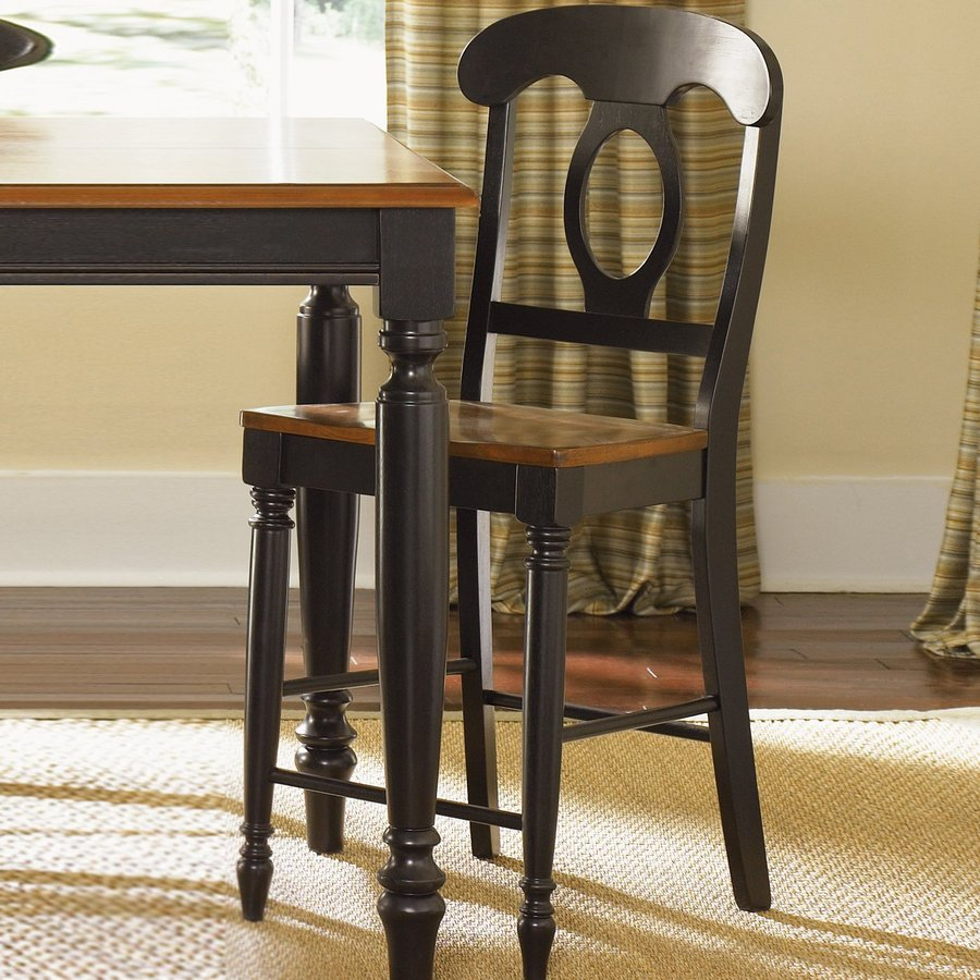 Liberty Furniture Low Country Anchor Black/Suntan Bronze Counter Stool