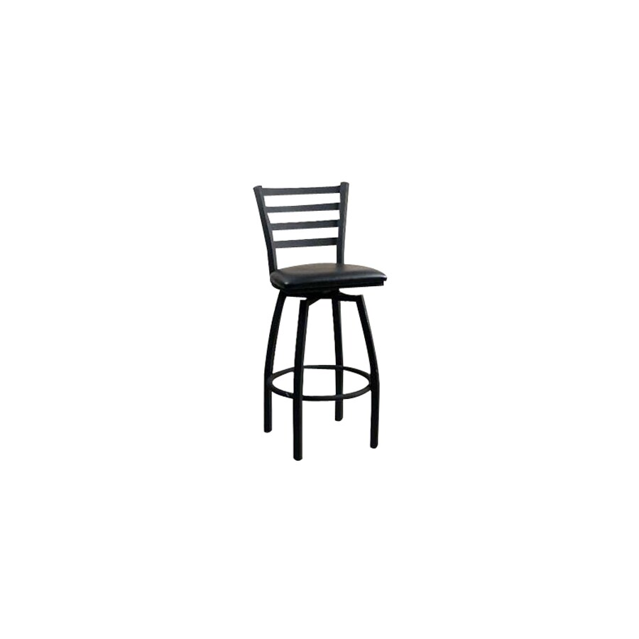 Alston Quality Industries Matte Bronze 24-in Counter Stool