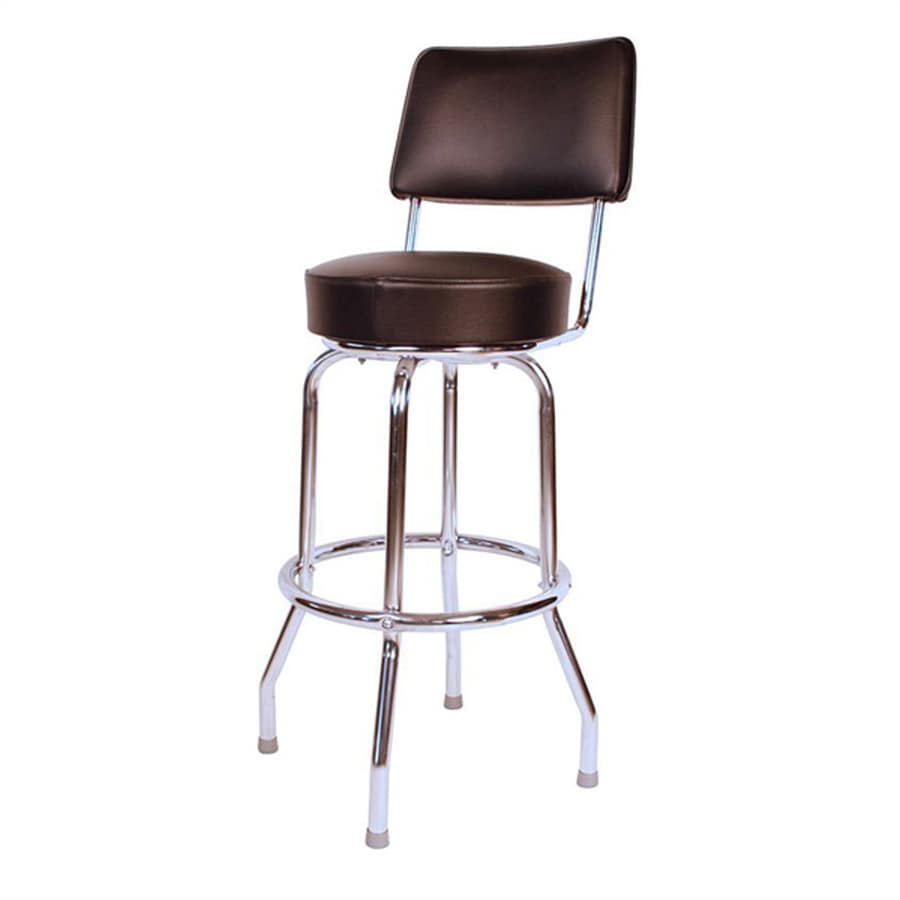 Richardson Seating Floridian Casual Chrome Counter Stool