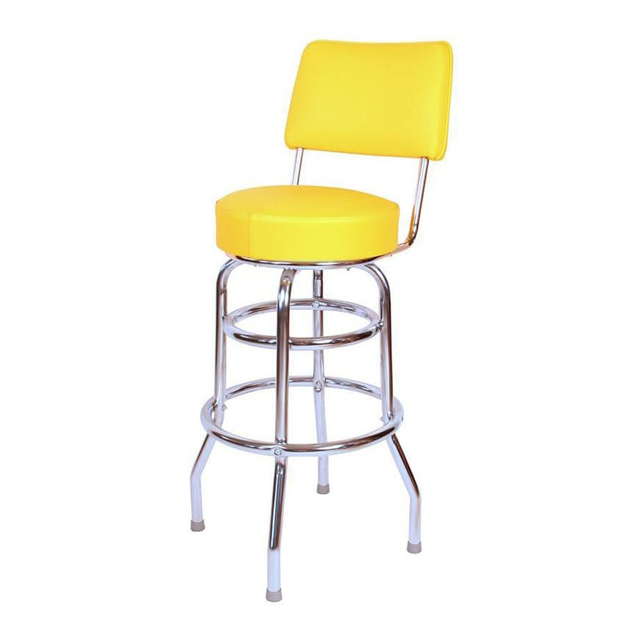 Shop Richardson Seating Floridian Chrome Bar Stool At