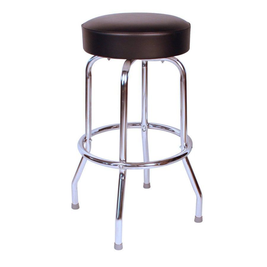 Richardson Seating Floridian Chrome Bar Stool At Lowes Com