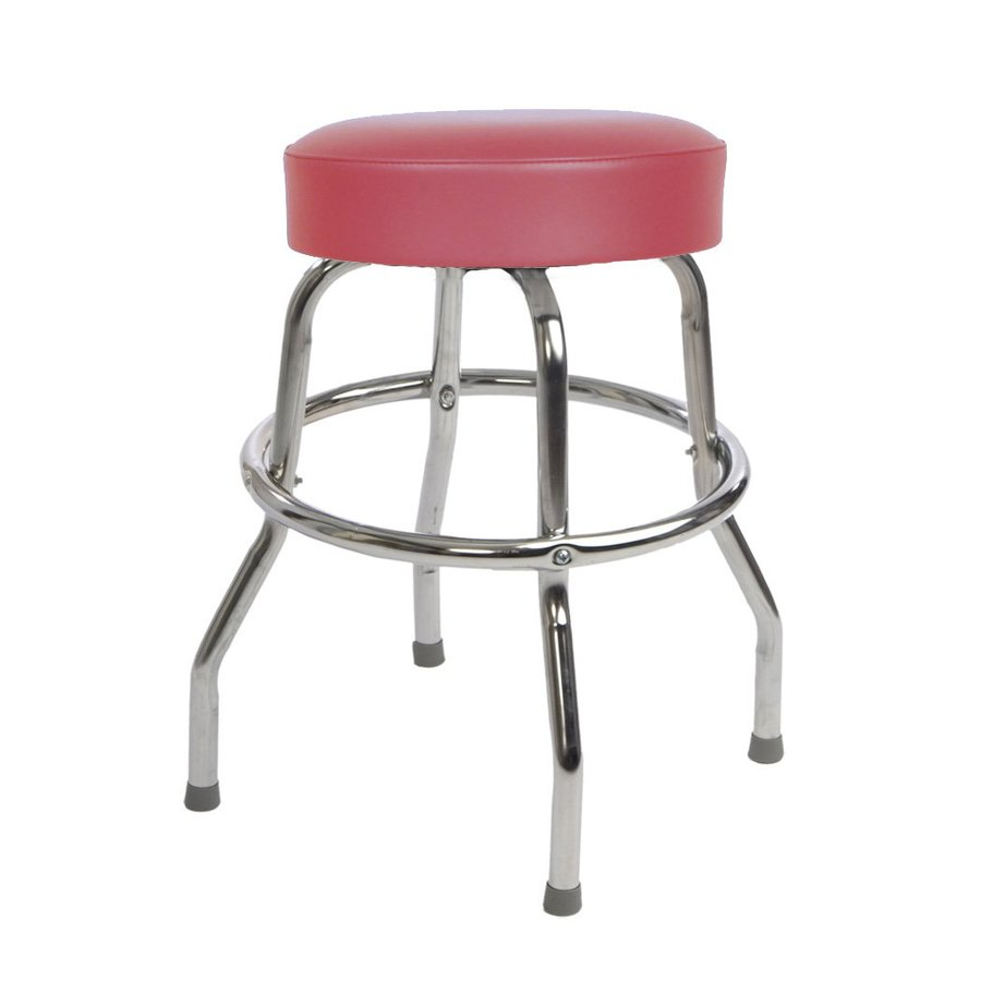 Shop Richardson Seating Floridian Chrome Counter Stool At
