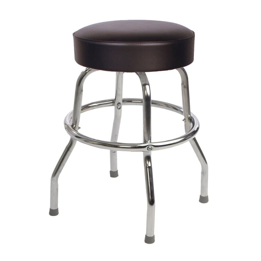Richardson Seating Floridian Chrome Counter Stool At Lowes Com