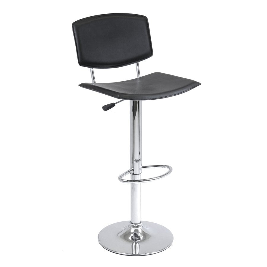 Winsome Wood Chrome 31.4-in Adjustable Stool