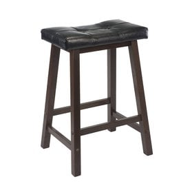 winsome wood casual antique walnut counter stool