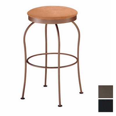 Marvelous Trica Kim Black 25 5 In Counter Stool At Lowes Com Machost Co Dining Chair Design Ideas Machostcouk