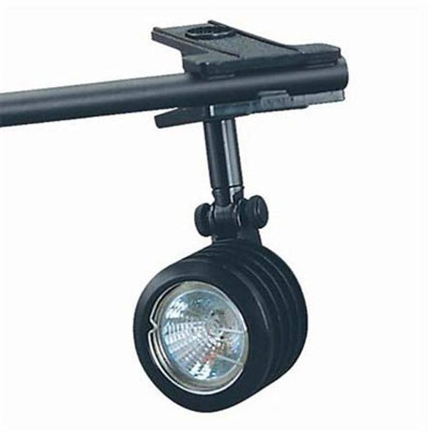 shop cal lighting soho black fixed track light kit at