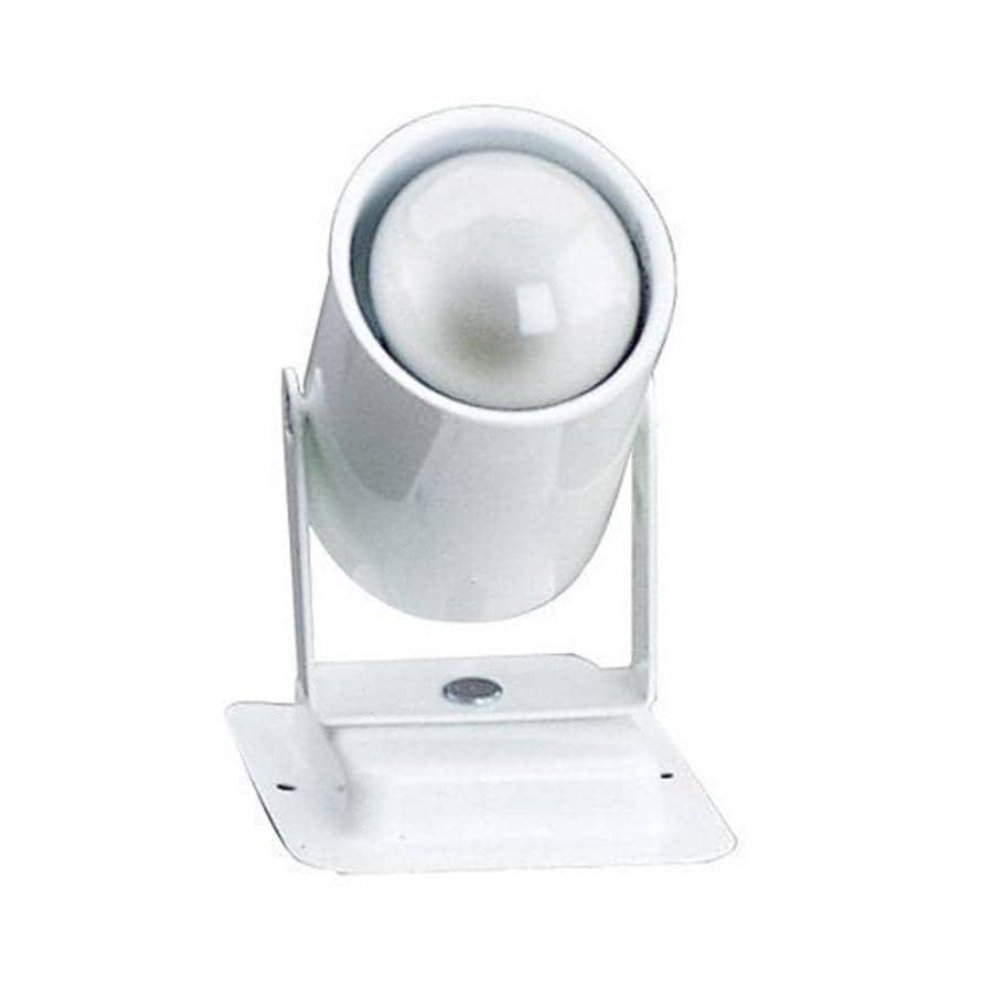 Cal Lighting Soho 3-in White Flush Mount Fixed Track Light Kit