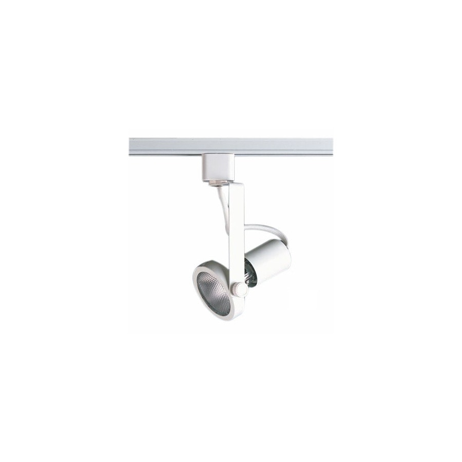 Cal Lighting White 3-Wire Connection Gimbal Linear Track