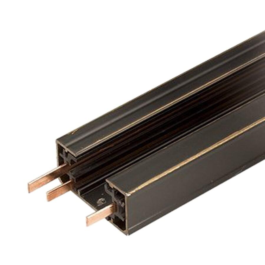 Cal Lighting Dark Bronze Linear Metal Track