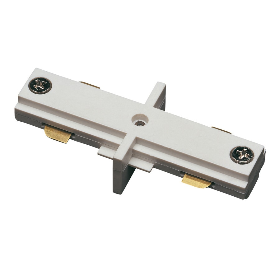 Cal Lighting White Linear Inline Connector