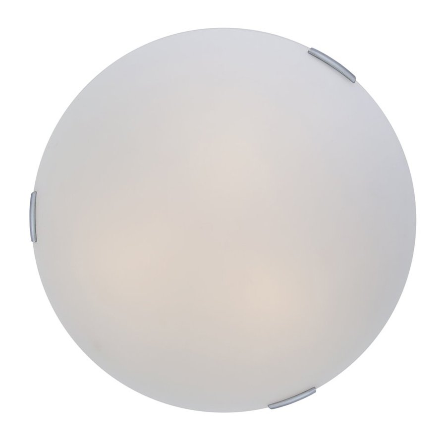 DVI Orinoco 16-in W Chrome Flush Mount Light