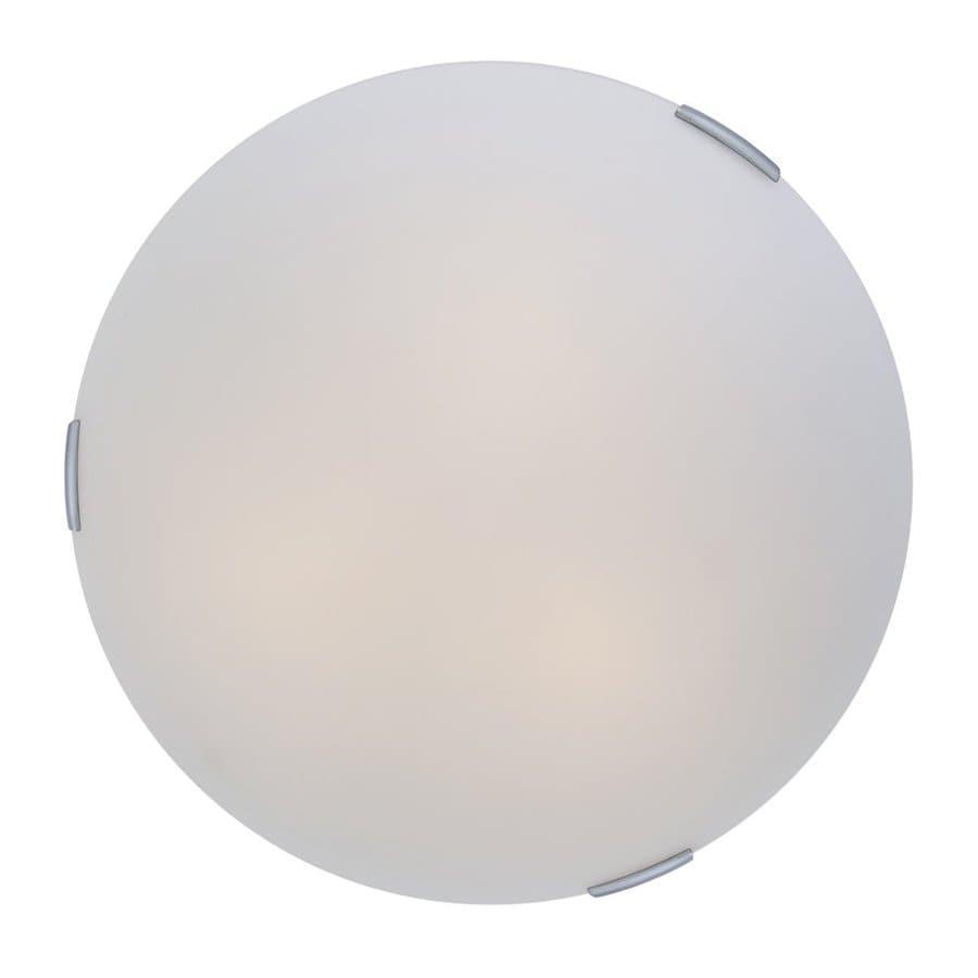 DVI Orinoco 16-in W Chrome Ceiling Flush Mount Light