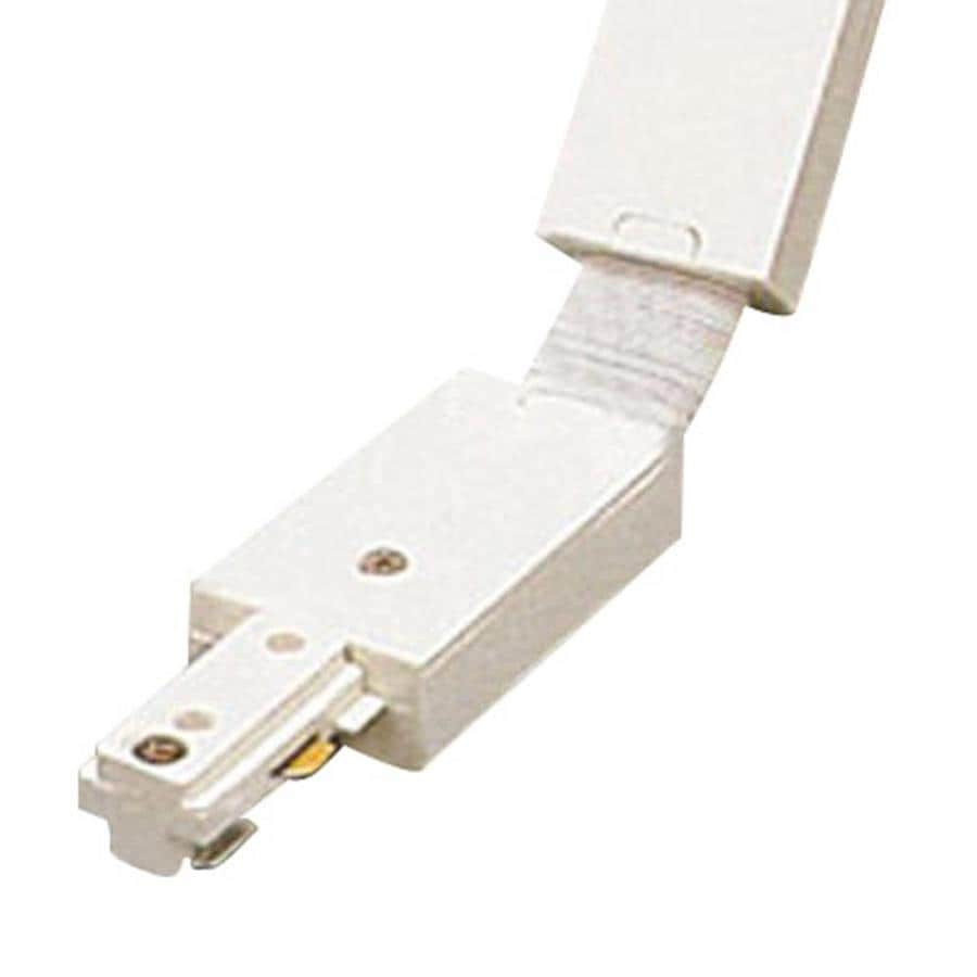PLC Lighting White Linear Track Light Inline Connector