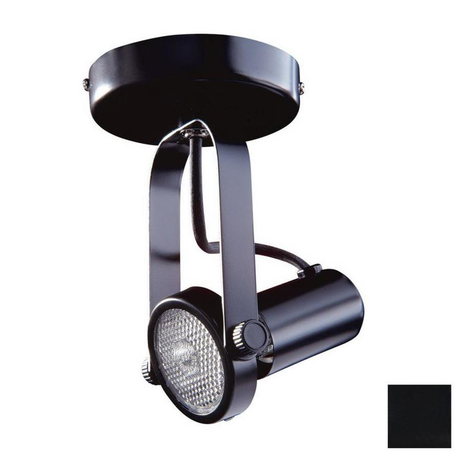 Kendal Lighting Black Flush Mount Fixed Track Light Kit