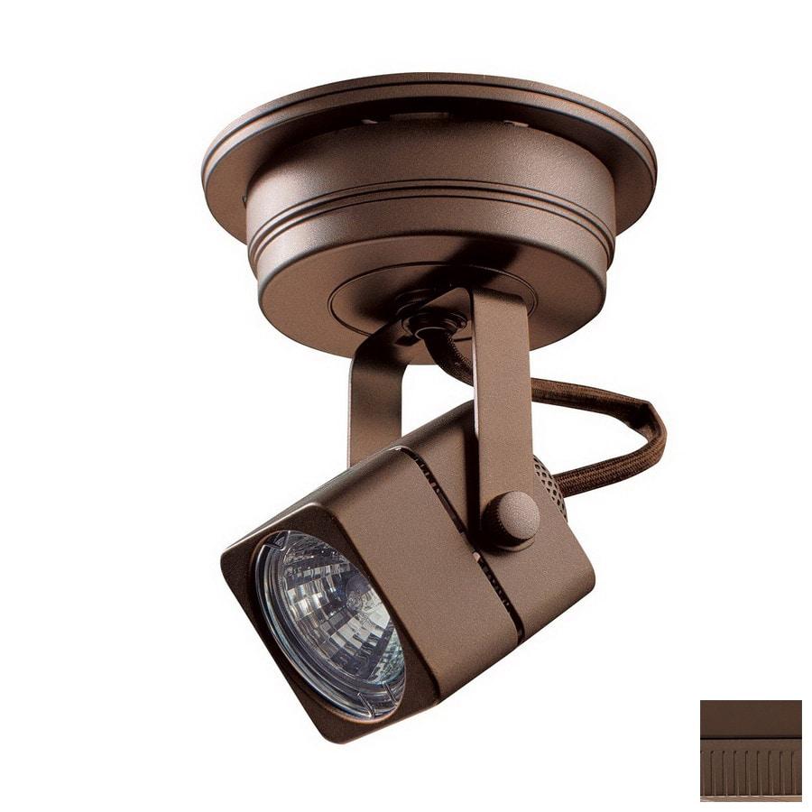 Kendal Lighting 1-Light Oil-Rubbed Bronze Flush-Mount Fixed Track Light Kit