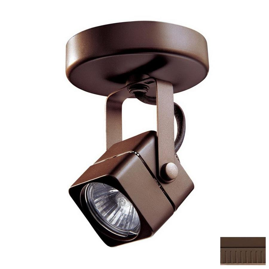 Kendal Lighting Oil-Rubbed Bronze Flush Mount Fixed Track Light Kit