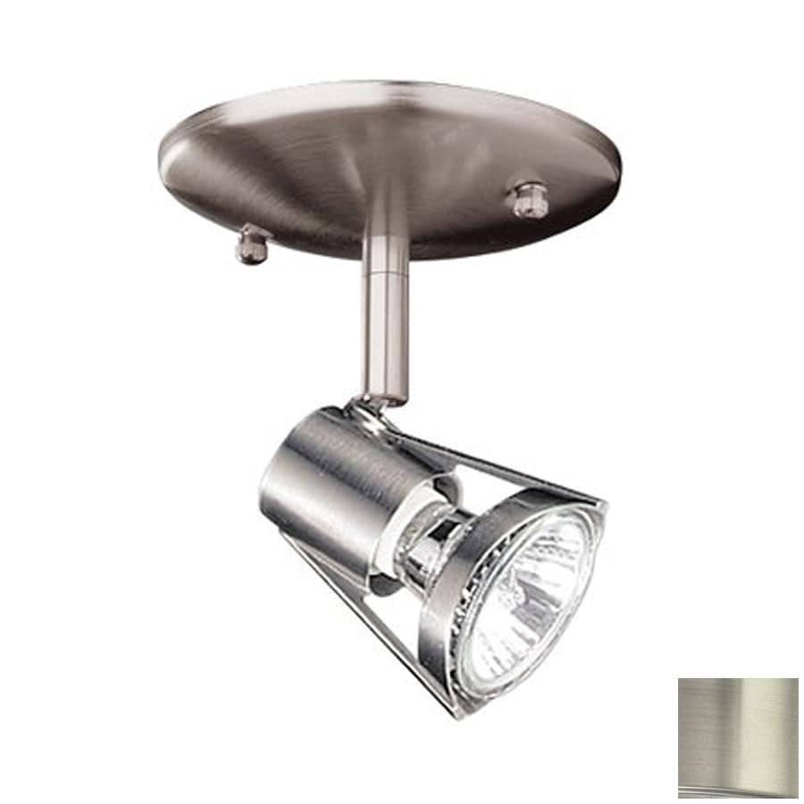 Kendal Lighting Satin Nickel Flush Mount Fixed Track Light Kit