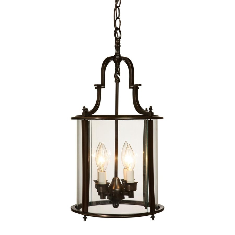 Marvelous Artcraft Lighting Manor 11 In W Oil Rubbed Bronze Pendant Light With Clear  Glass