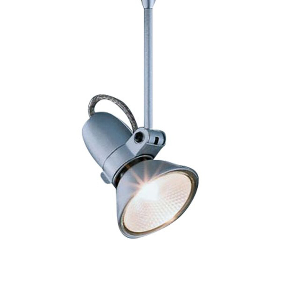 Bruck Lighting Systems Silena 1.625-in Matte Chrome Flush Mount Fixed Track Light Kit