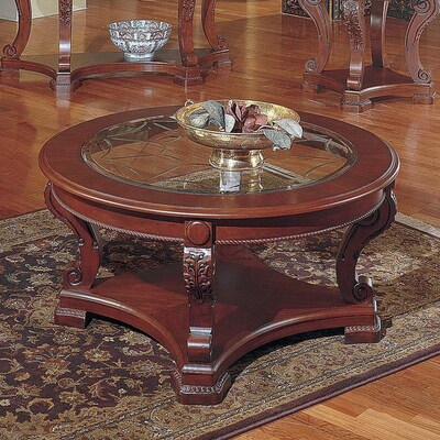 Cherry Round Coffee Tables Home Design Ideas