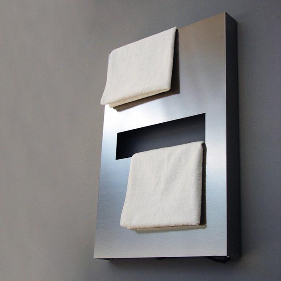 Amba Polished Stainless-Steel Towel Warmer