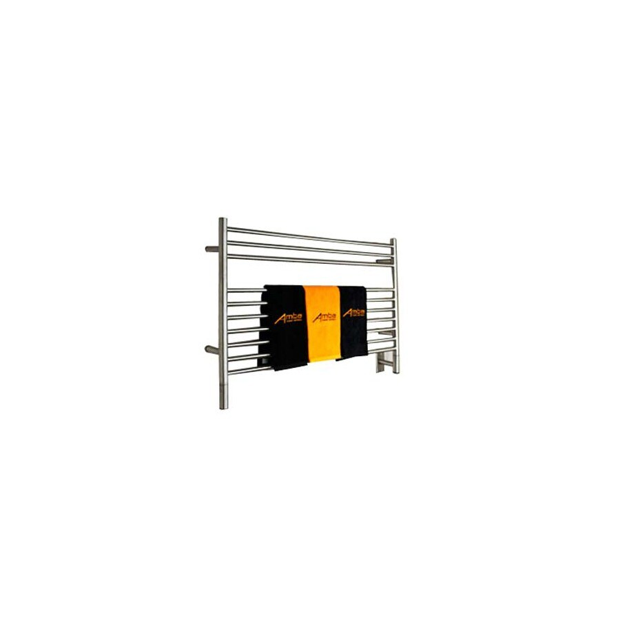 Amba Polished Stainless-Steel Towel Warmer