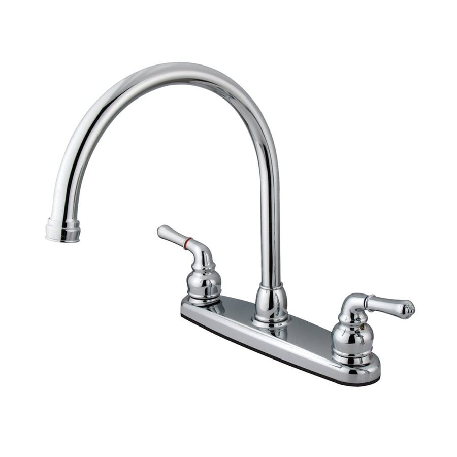 Elements of Design Magellan Chrome 2-Handle High-Arc Kitchen Faucet