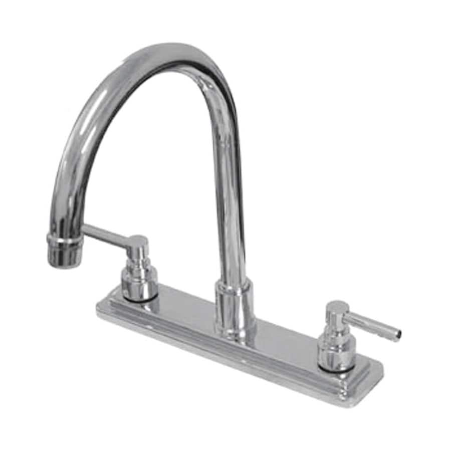 Elements of Design Tampa Chrome 2-Handle High-Arc Kitchen Faucet