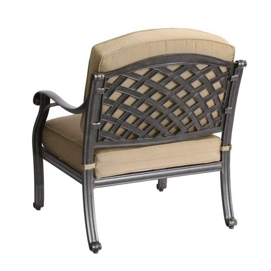 shop darlee nassau antique bronze aluminum cushioned patio