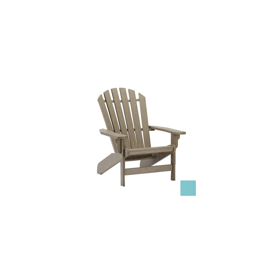 Siesta Furniture Windsor Aqua Plastic Adirondack Chair