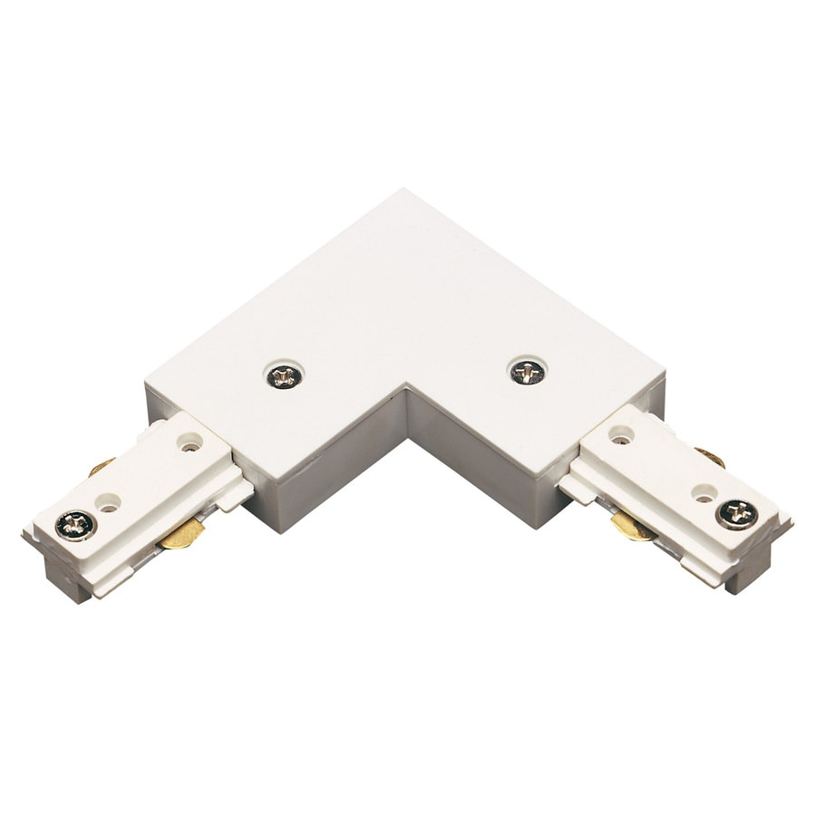 Cal Lighting White Linear L-Connector