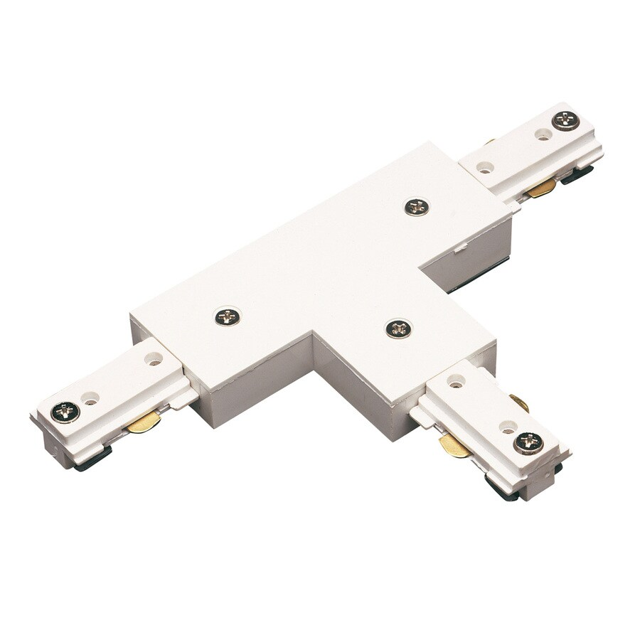 Cal Lighting White Linear T-Connector
