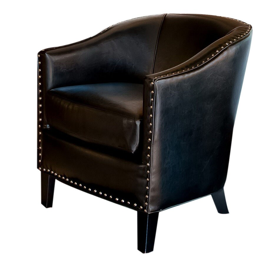 Home Decor Austin: Best Selling Home Decor Austin Black Faux Leather Club